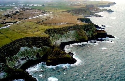 Giant's Causeway N Ireland Aerial Photo